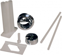 Niagara Mechanical Push Button Assembly Pack Chrome