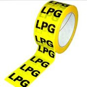 ID Tape inchLPGinch Yellow/Black 50mm x 33m