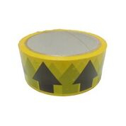 ID Tape inchArrowsinch Yellow/Black 38mm x 33m