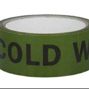 ID Tape inchCold Waterinch Black/Green 38mm x 33m