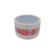 ID Tape inchDANGER Do Not Useinch Red/White 38mm x 33m