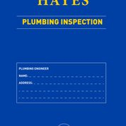 Plumbing Inspection Pad