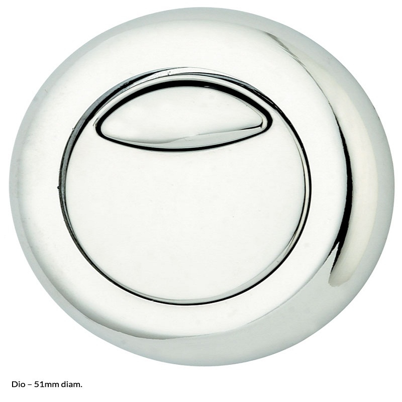 Concealed Cistern Dual Flush Push Buttons