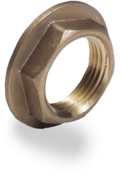 Brass Flanged Back Nut
