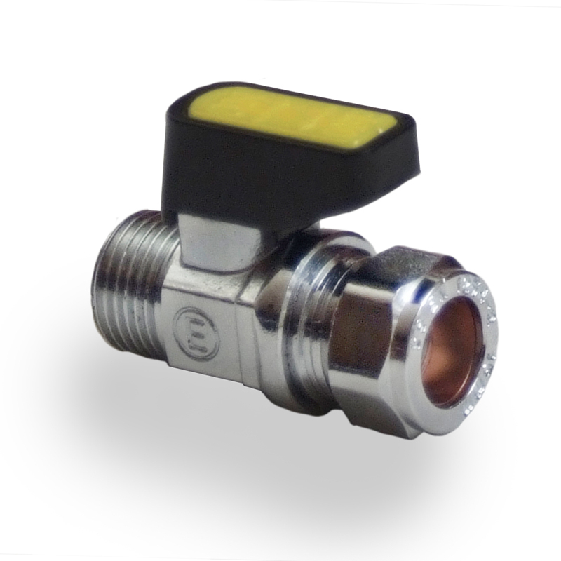 Straight Mini Ball Valve C x MI