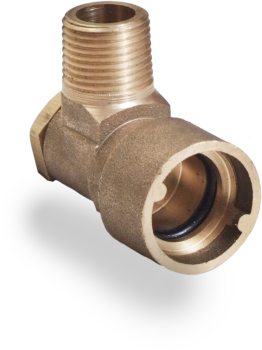 Angled Bayonet Socket Natural Gas and LPG