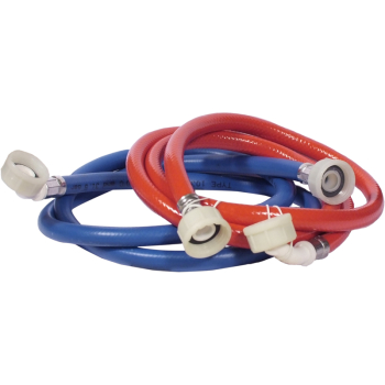 Washing Machine Hoses Red/Blue