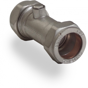 Chrome Single Check Valve
