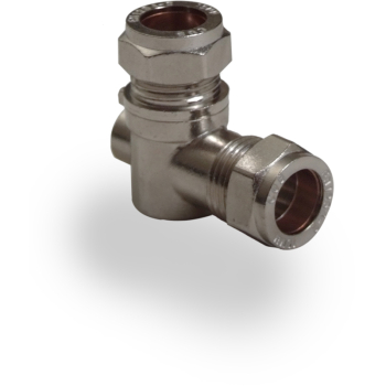 Chrome Isolation Valves 90 Deg