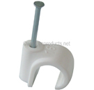 Nail on Plastic Pipe Clips