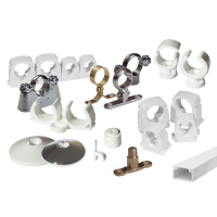 PIPE BRACKETS AND CLIPS